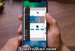 Cách thoát ứng dụng chạy ngầm trên iPhone X hiển thị trình đa nhiệm 2