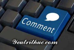 Comment là gì, cách phát âm và nghĩa của Comment trên Facebook