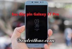 Thời gian sạc đầy pin Galaxy J7 Pro mất trong bao lâu