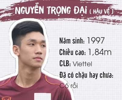 Profile, địa chỉ Facebook và Danh sách tên cầu thủ U23 Việt Nam 14