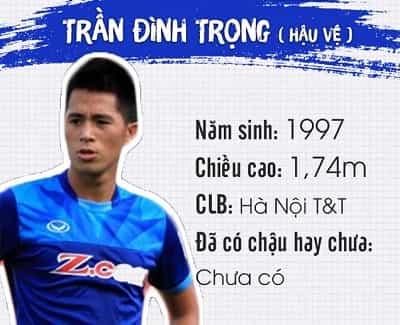 Profile, địa chỉ Facebook và Danh sách tên cầu thủ U23 Việt Nam 16