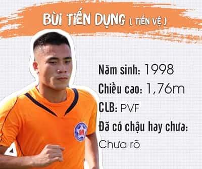 Profile, địa chỉ Facebook và Danh sách tên cầu thủ U23 Việt Nam 3