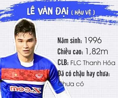 Profile, địa chỉ Facebook và Danh sách tên cầu thủ U23 Việt Nam 5