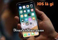 iOS là gì, tìm hiểu Hệ điều hành thiết bị di động iOS của Apple