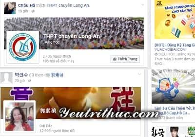 Cách ẩn hoạt động like, follow trang fanpage trên Timeline Facebook 1