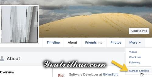 Cách ẩn hoạt động like, follow trang fanpage trên Timeline Facebook 3
