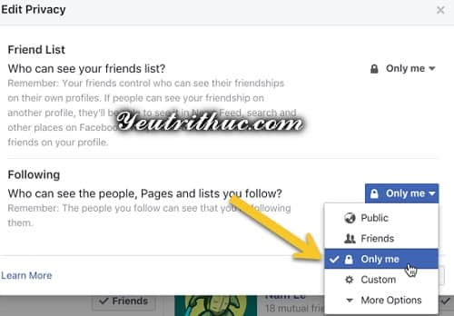 Cách ẩn hoạt động like, follow trang fanpage trên Timeline Facebook 6