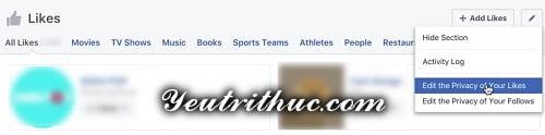 Cách ẩn hoạt động like, follow trang fanpage trên Timeline Facebook 7