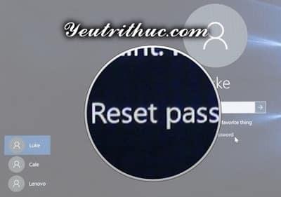 Cách tạo ổ đĩa khôi phục mật khẩu máy tính Windows 10 và 8 1