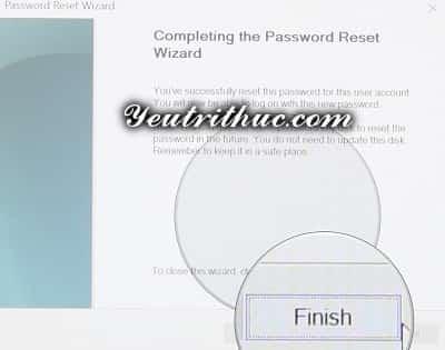 Cách tạo ổ đĩa khôi phục mật khẩu máy tính Windows 10 và 8 5