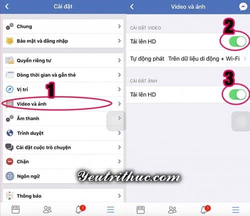 Cách upload, tải video chất lượng cao Full HD lên Facebook đơn giản 3
