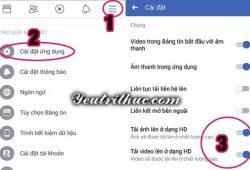 Cách upload, tải video chất lượng cao Full HD lên Facebook đơn giản 4