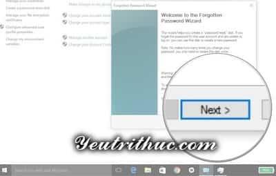 Cách tạo ổ đĩa khôi phục mật khẩu máy tính Windows 10 và 8 9