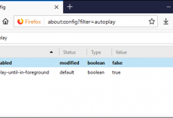 Cách vô hiệu hóa, tắt tính năng tự động phát Video trên Firefox 1
