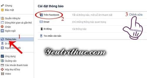 Cách tắt thông báo từ nhóm Chat trên Facebook và Messenger 7