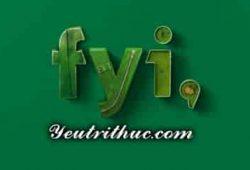 FYI là gì viết tắt của từ nào, giải thích ý nghĩa của từ FYI đầy đủ