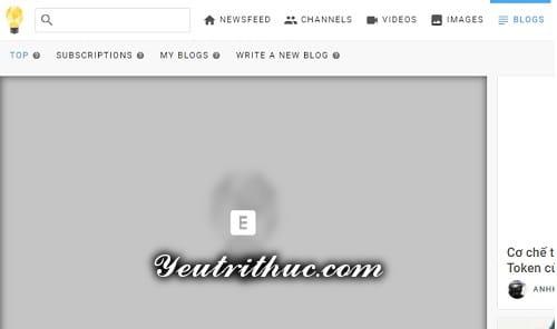 Cách tạo bài viết Blogs mới trên Minds 2