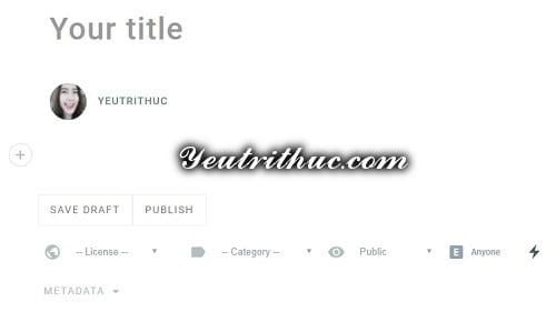 Cách tạo bài viết Blogs mới trên Minds 4