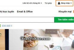 cách đăng ký tạo tài khoản GoDaddy 1