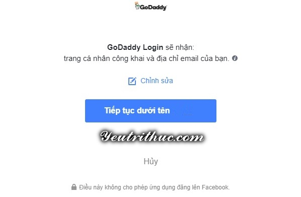 cách đăng ký tạo tài khoản GoDaddy 5