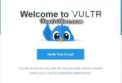 đăng ký tạo tài khoản Vultr 5