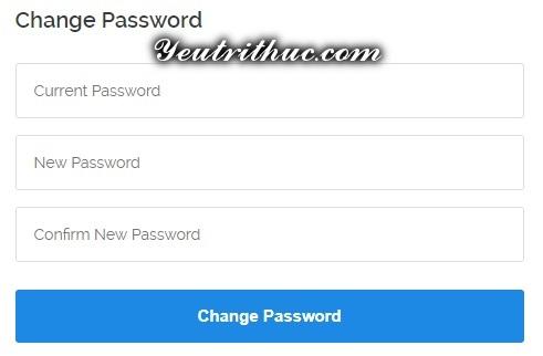 Cách thay đổi mật khẩu tài khoản Vultr 2