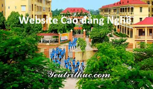 websites các trường Cao đẳng nghề Việt Nam