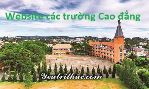 Website các trường Cao đẳng