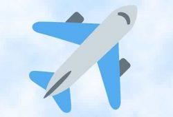 Cách tạo biểu tượng cảm xúc Máy bay