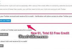 Cách nhận 3 USD miễn phí trên Vultr 2