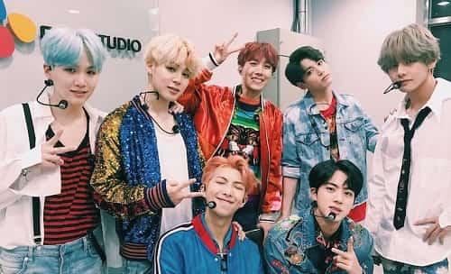Các thành viên BTS Bangtan Boys 8