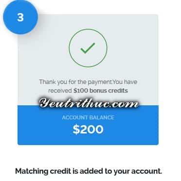 Cách nhận 100$ Free Credit từ Vultr 4
