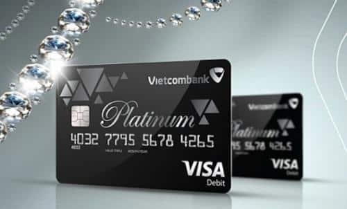 Lệ Phí phát hành và phí sử dụng Thẻ Vietcombank Visa Platinum