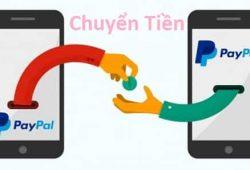 Hướng dẫn cách chuyển gửi tiền từ PayPal sang PayPal khác 1