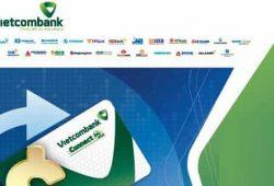 Danh sách chuyển tiền nhanh Liên Ngân Hàng 24/7 của Vietcombank