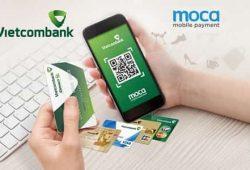 Cách sử dụng dịch vụ thanh toán di động Vietcombank Moca