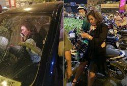 Nữ tài xế BMW gây tai nạn ở Hàng Xanh