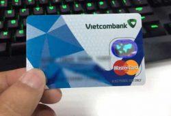 Thẻ ghi nợ quốc tế Vietcombank MasterCard thanh toán quốc tế