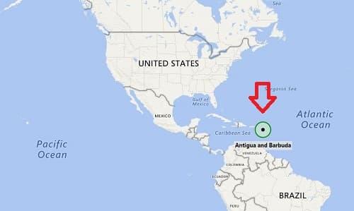 Antigua là ở đâu, đất nước Antigua and Barbuda 1