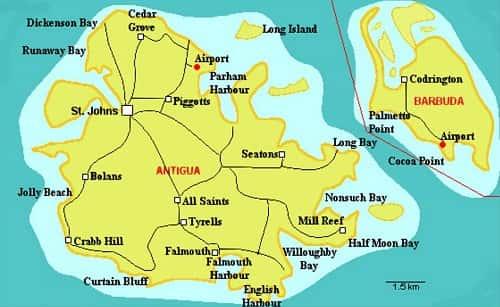 Antigua là ở đâu, đất nước Antigua and Barbuda 2