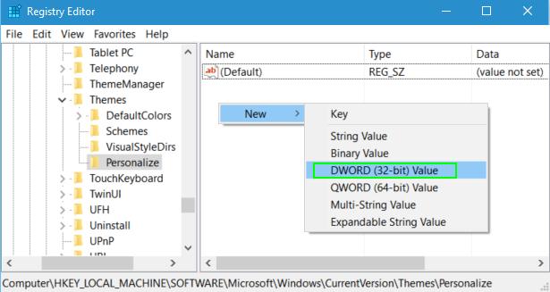 Cách kích hoạt, bật chế độ xem tối Dark Theme trên Windows 10 5