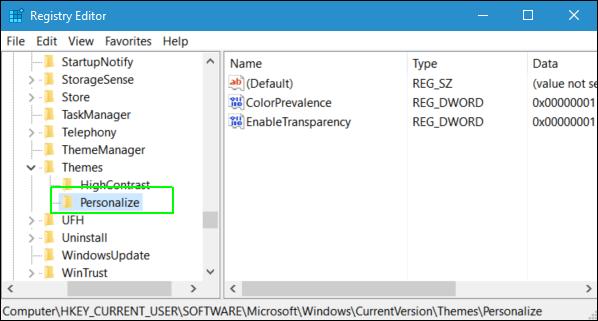 Cách kích hoạt, bật chế độ xem tối Dark Theme trên Windows 10 8