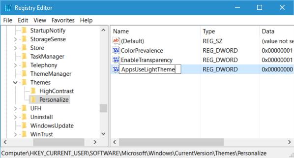 Cách kích hoạt, bật chế độ xem tối Dark Theme trên Windows 10 9