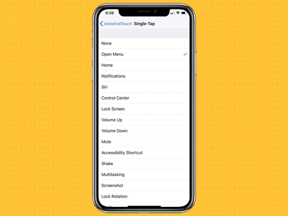 Cách kích hoạt, bật phím Home ảo trên iPhone XS, XS Max, XR 7
