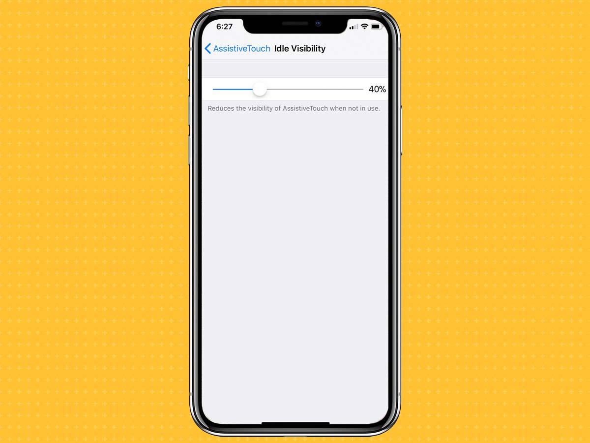 Cách kích hoạt, bật phím Home ảo trên iPhone XS, XS Max, XR 8