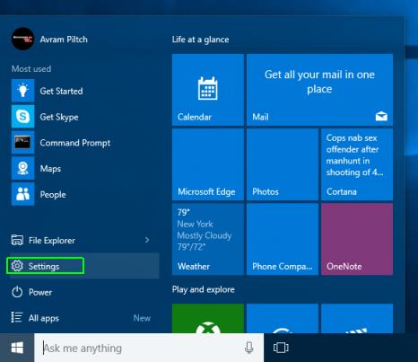 Cách bật tất, kích hoạt chế độ Tablet Mode trên Windows 10 1