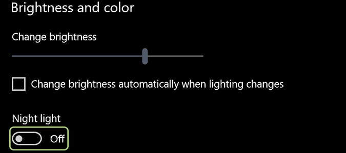 Cách kích hoạt tính năng Night Light trên Windows 10 6
