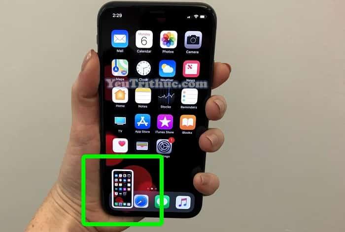 Cách chụp màn hình Screenshot trên iPhone XR, iPhone XS, XS Max 3
