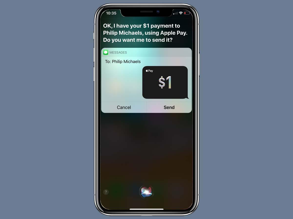 Cách chuyển tiền Apple Pay Cash bằng iMessage trên iPhone XS, XR 14