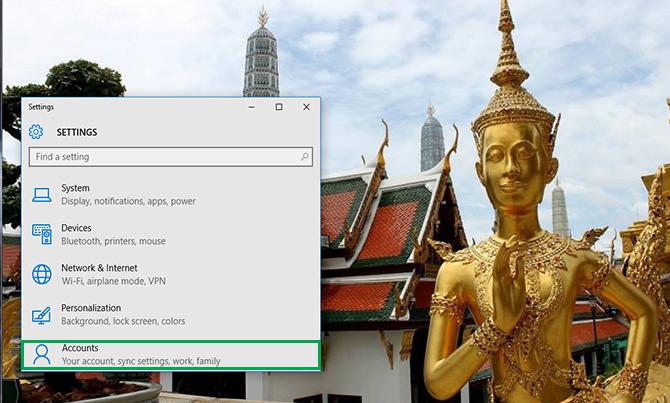 Cách thay đổi mật khẩu Password đăng nhập Windows 10 3